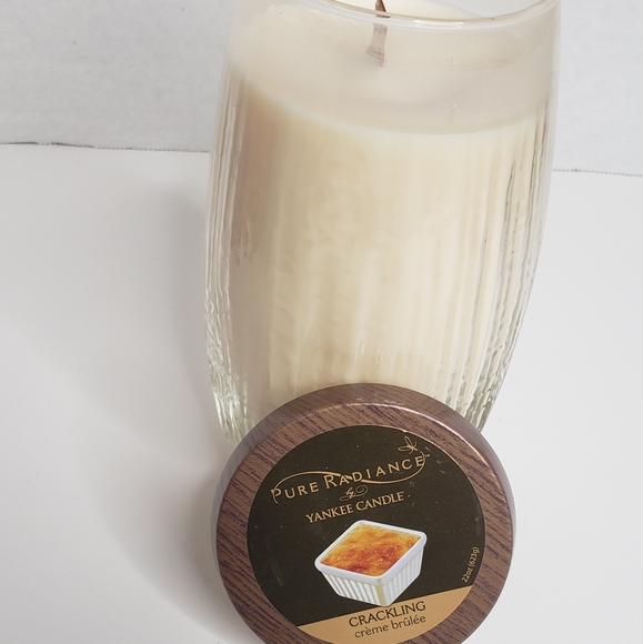 Yankee Candle Other - YANKEE CANDLE PURE RADIANCE CREME BRULEE
